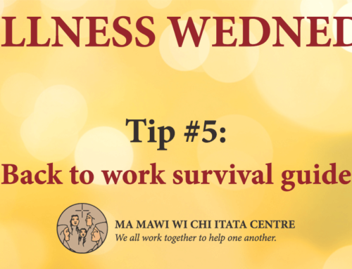 Wellness Wednesday: Tip #5