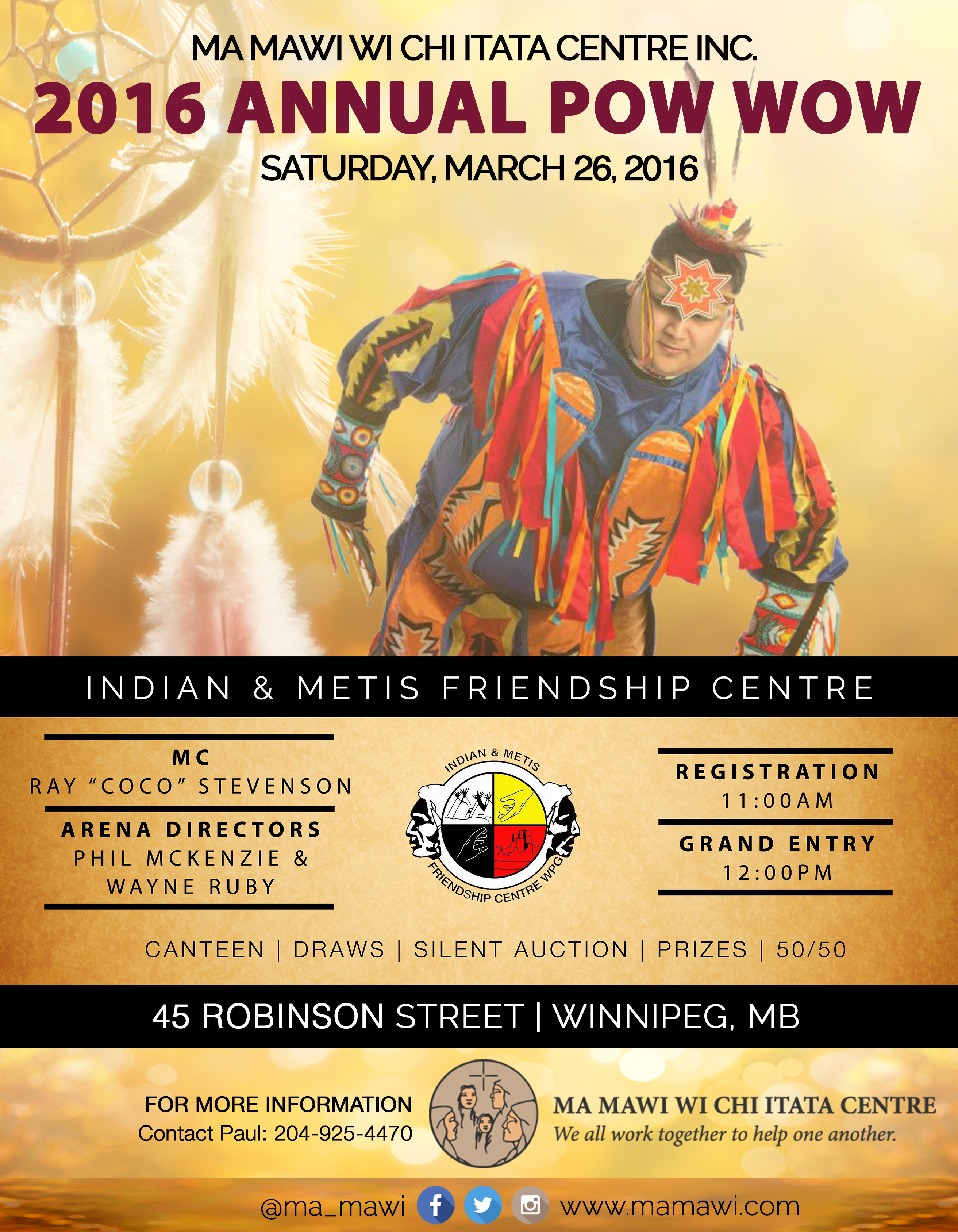 2016 Annual Pow Wow Poster