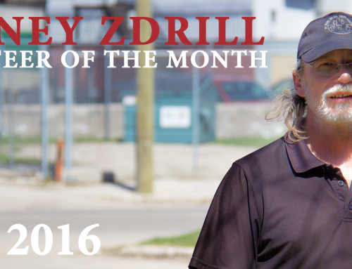Volunteer of the Month: Rodney Zdrill