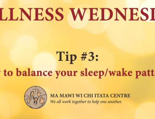 Wellness Wednesday: Tip #3