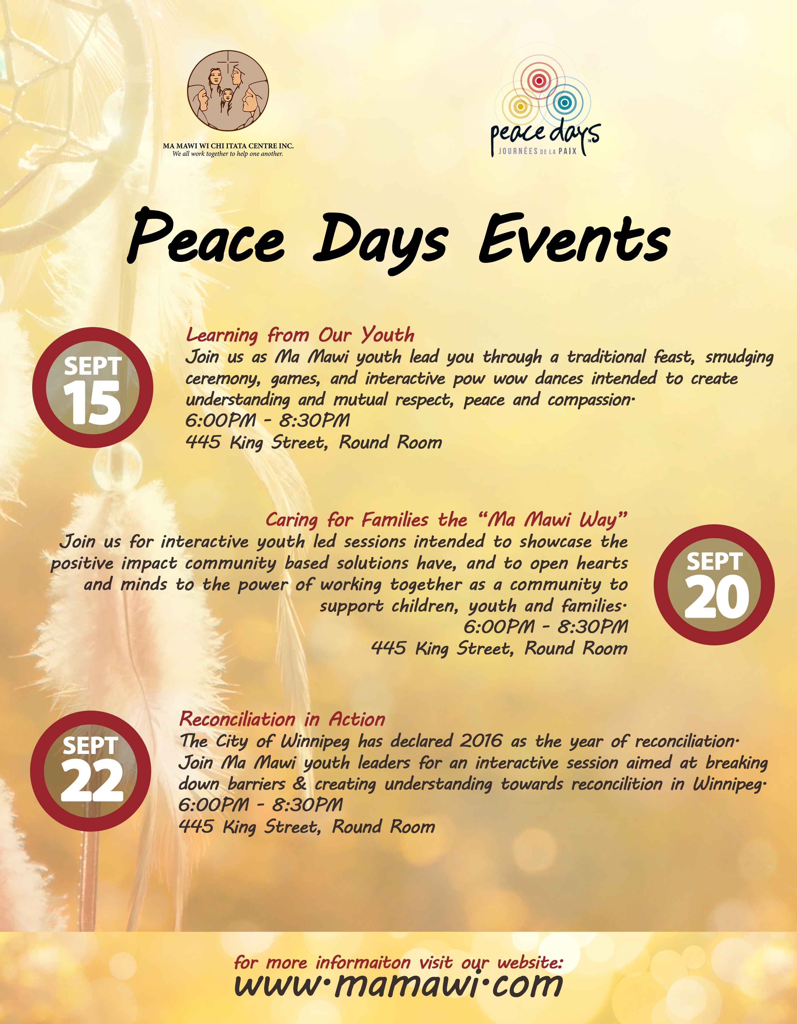 Peace Days Events