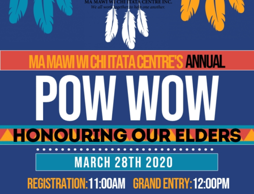 Ma Mawi Annual Spring Pow Wow – March 28th 2020