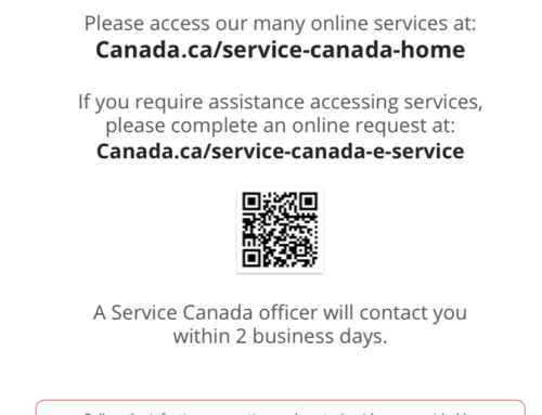 Service Canada Here to Help